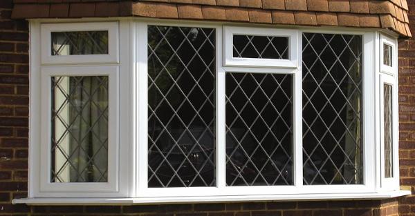 photo of doubled glazed windows
